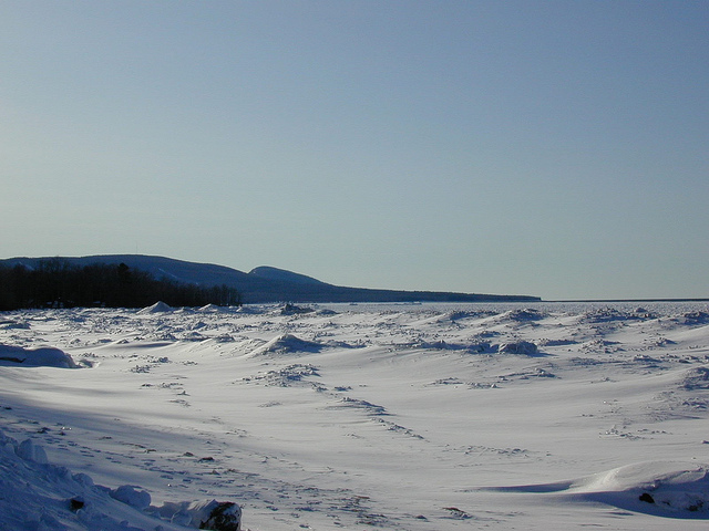Porcupine Mountains in Winter